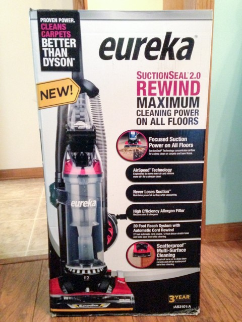Cleaning Up Messes With Eureka Suctionseal 2 0 Daily