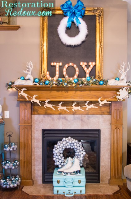Restoration-Redoux's Christmas-Mantel