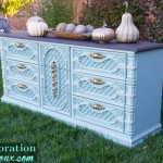 Retro Two Toned Dresser