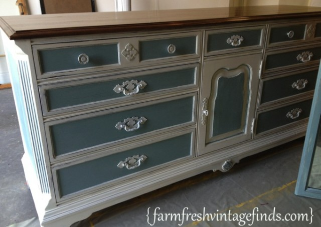 Duck-Egg-and-Old-White-Dresser-5