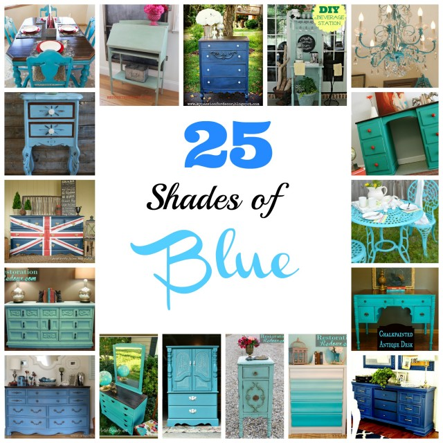 25 Shades of Blue