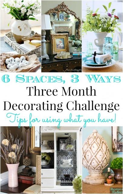 6 Spaces 3 Ways