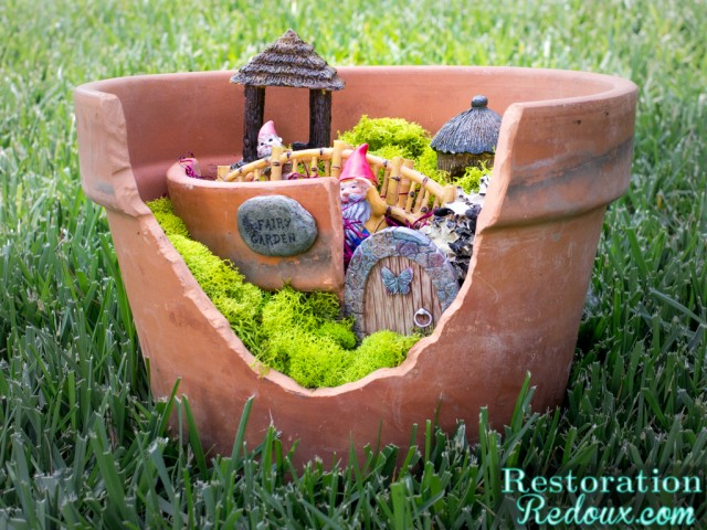 Flower Pot Fairy Garden
