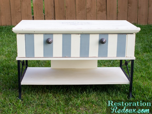 Ivory-PlasterPainted-French-TV-Console