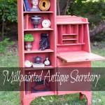 Milkpainted-Antique-Secretary
