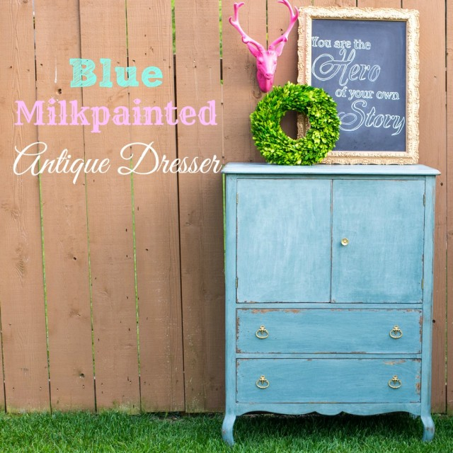 Antique-Blue-Milkpaint-Dresser
