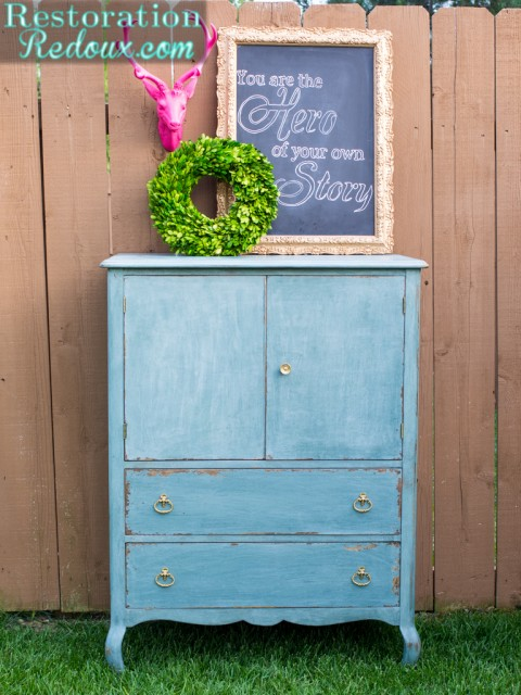 Blue-Milkpainted-Antique-Dresser