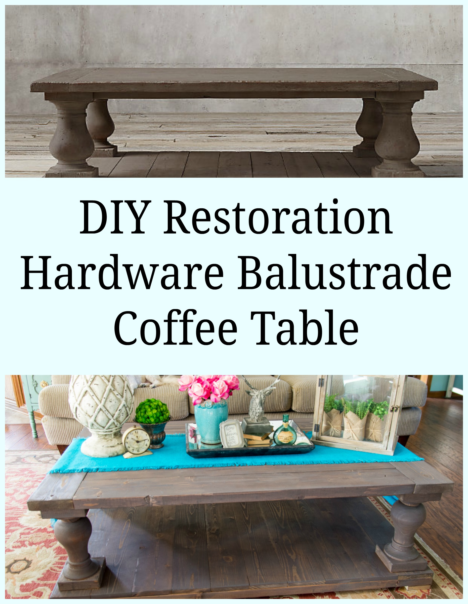 I Built My First Coffee Table and I still have all my
