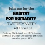 Habitat for Humanity + a Twitter Party