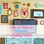 How to Build an Eclectic Gallery Wall-Decorating Challenge