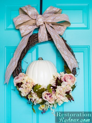 Fall-Floral-Pumpkin-Wreath