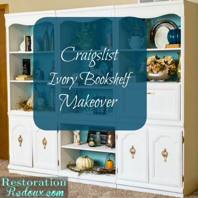 Craigslist-Bookshelf-Makeover
