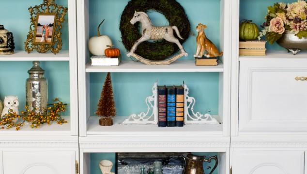 Vintage-Bookshelf-Makeover