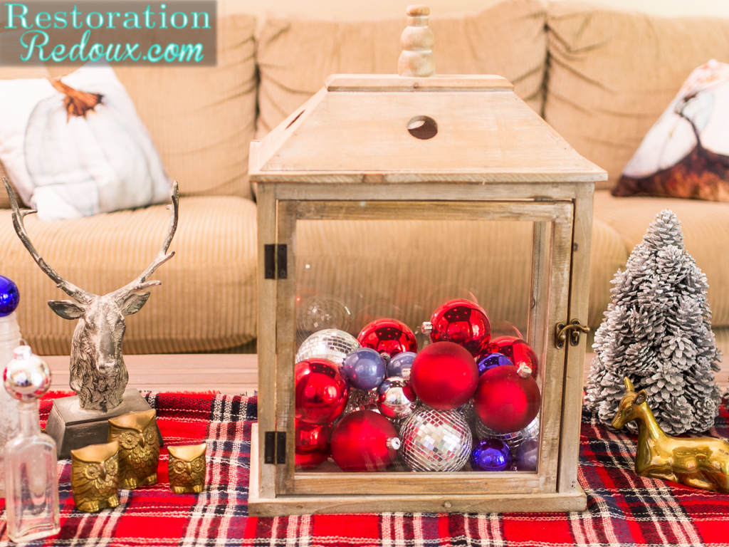 rustic christmas coffee table restoration redoux