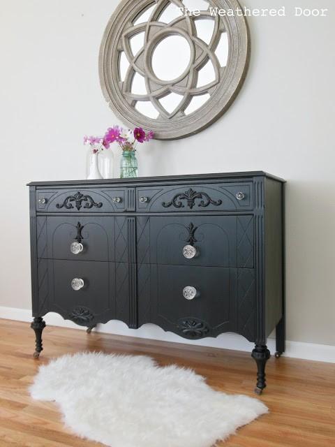 black dresser WD 2