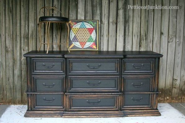 10 Top Black Furniture Makeovers Daily Dose Of Style
