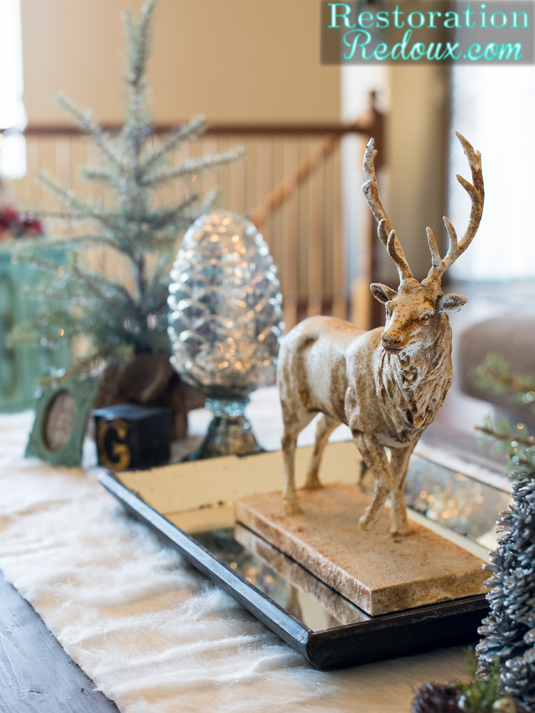 How to transition from christmas to winter decor restoration redoux how to transition from christmas to winter decor geotapseo Images