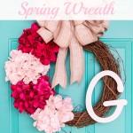 10 Minute Spring Wreath