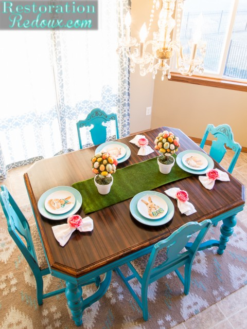 2016 Easter Table