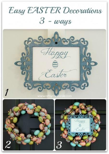 Easter Wreath 3-Ways
