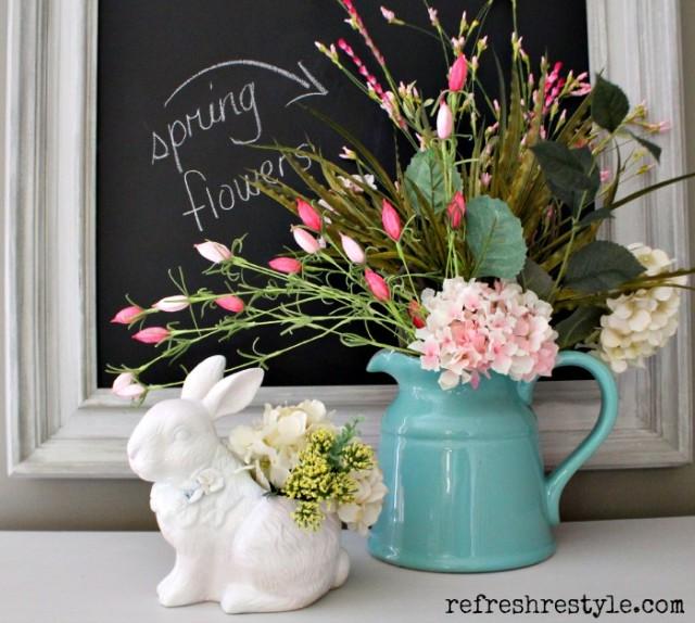 Pottery Barn Ceramic Bunny for Less