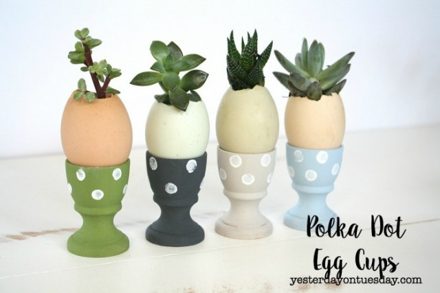 Polka Dot Egg Cups
