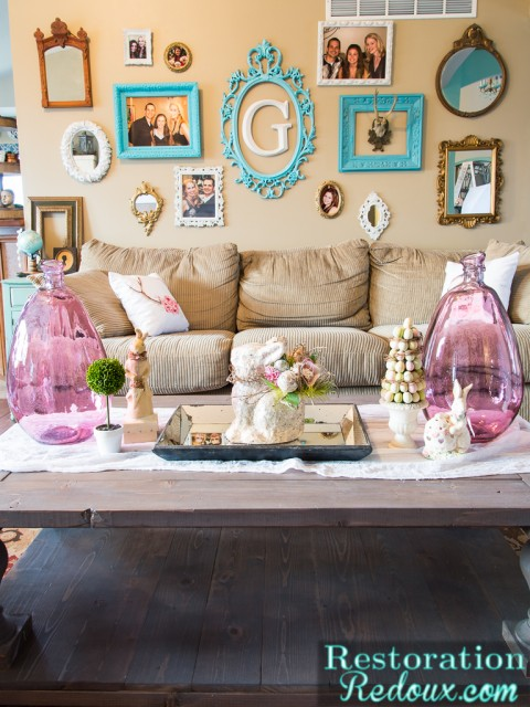 Restoration Redoux Easter Coffee Table