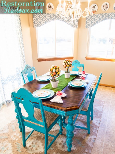 Restoration Redoux Easter Table