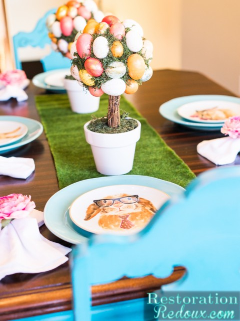 Restoration Redoux Easter Dinng Table