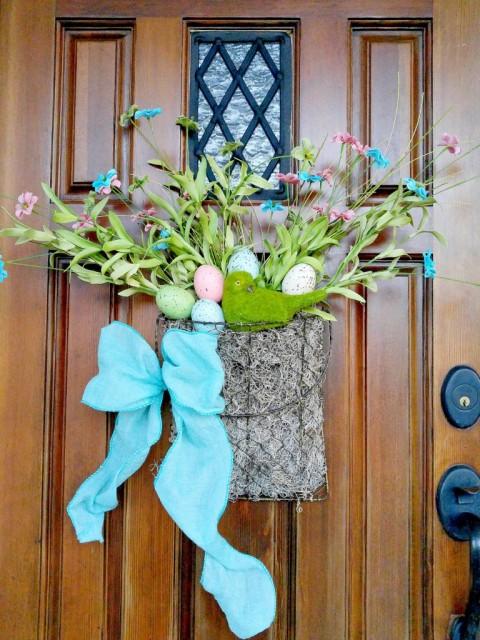Hanging Spring Basket