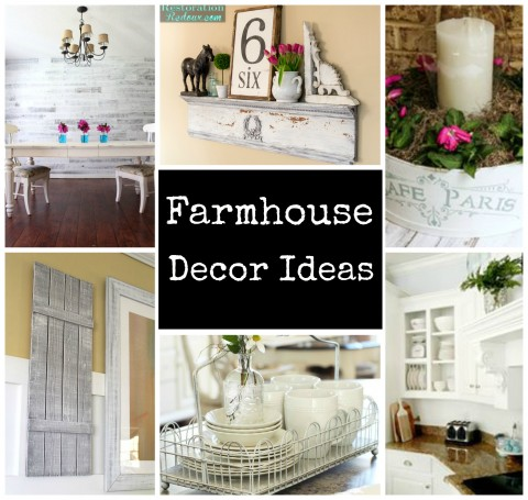 Farmhouse Shelf 3 Ways
