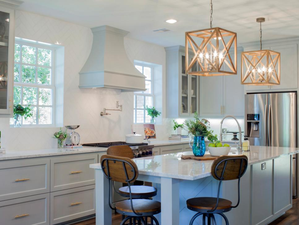TOP FIXER UPPER KITCHENS Daily Dose Of Style - Fixer upper kitchen light fixtures