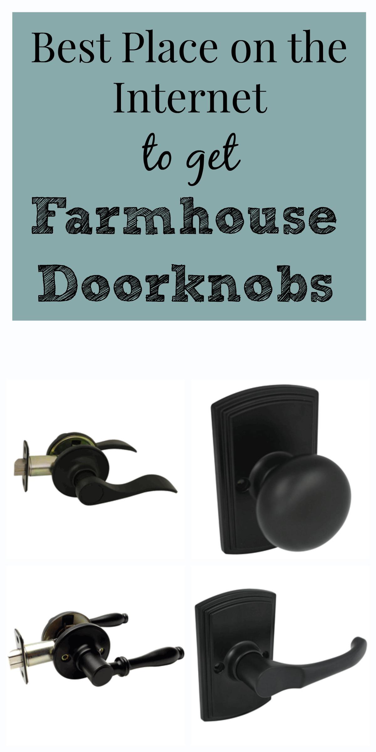 Farmhouse-Doorknobs