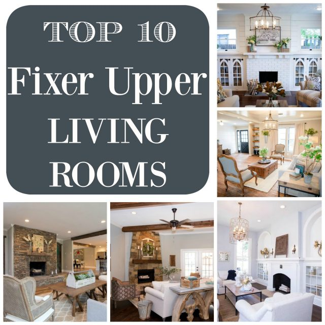 Fixer Upper Family Rooms