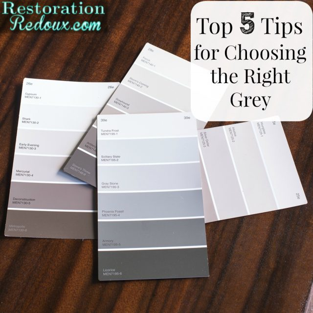 Top 5 Tips for Choosing the Right Grey