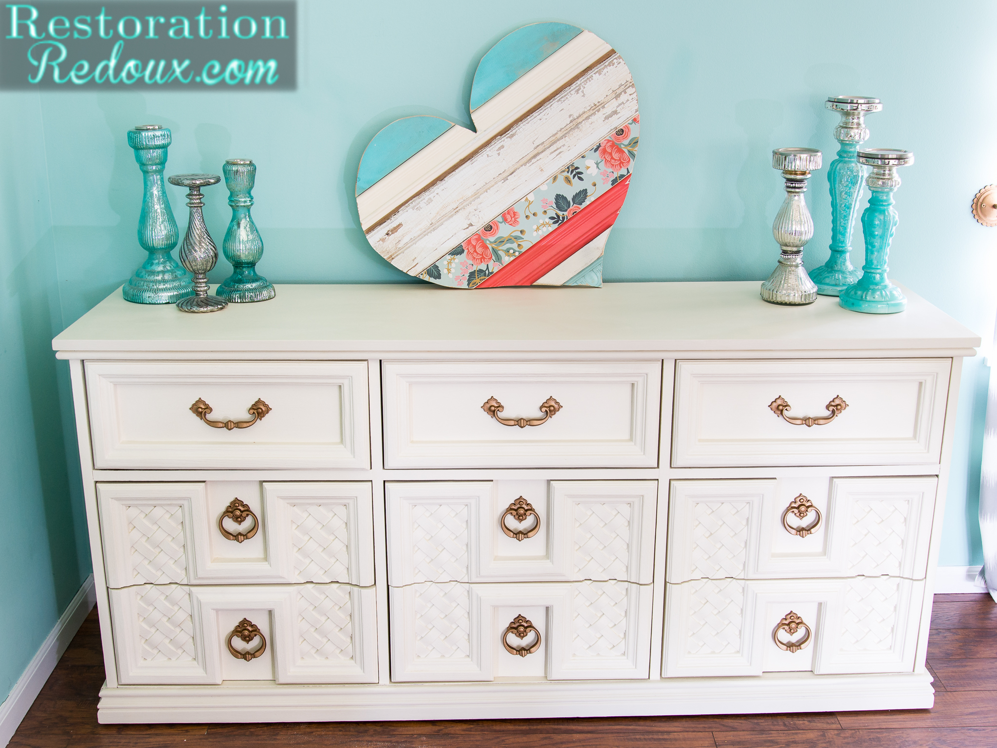 Totally 70's Dresser Makeover