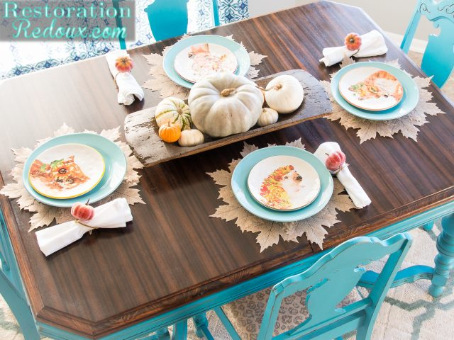 Harvest Garden Tablescape