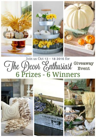 New Fall Decor plus a Giveaway!!!