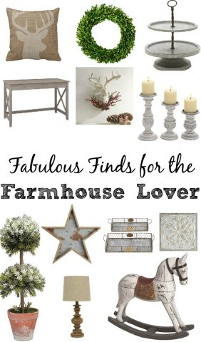 Fabulous Finds for the Farmhouse Lover