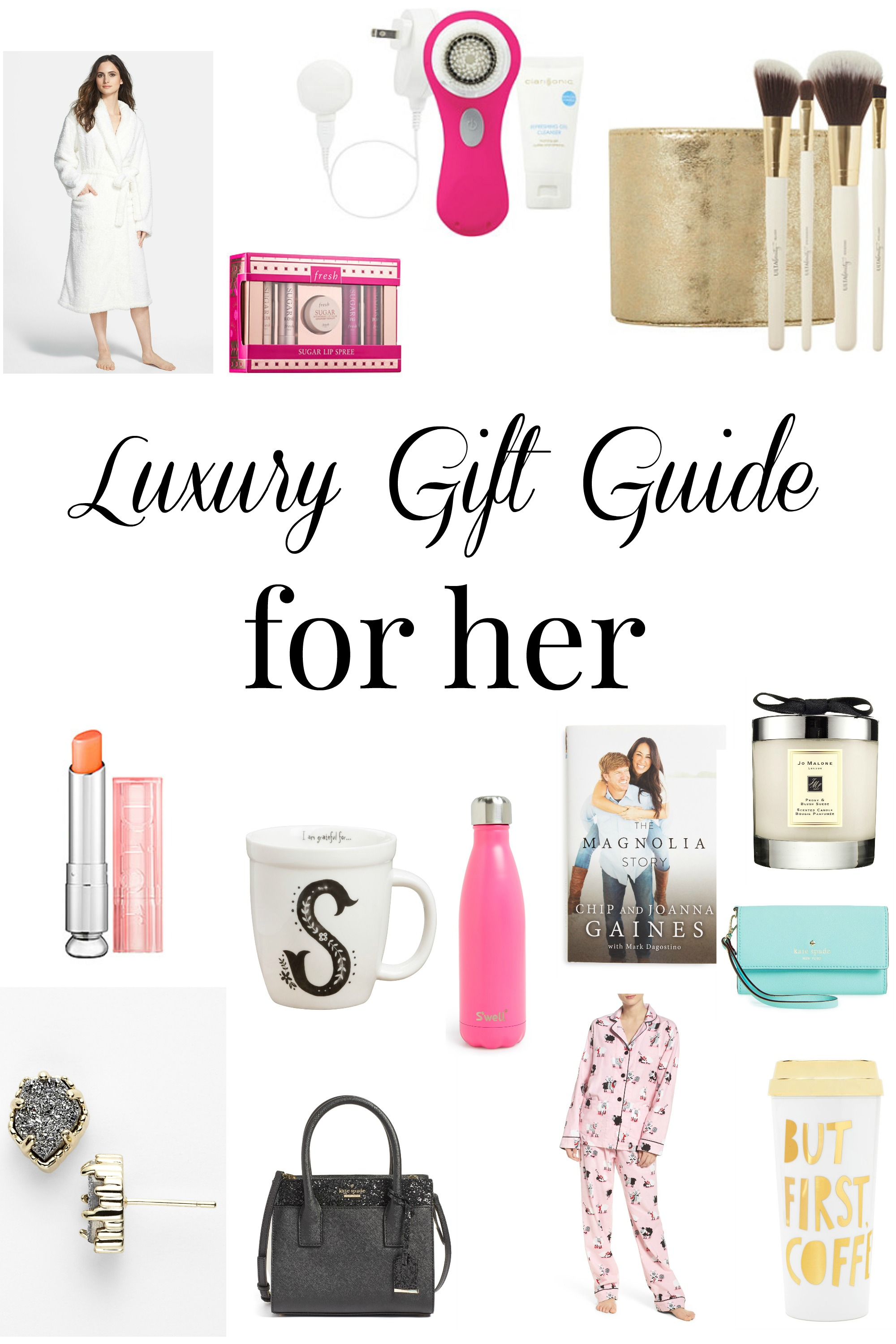 Luxury gift guide for her daily dose of style for Luxury gift ideas for her
