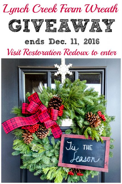 Lynch Creek Farm Wreath Giveaway