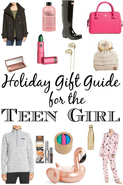 Holiday Gift Guide for the Teen Girl