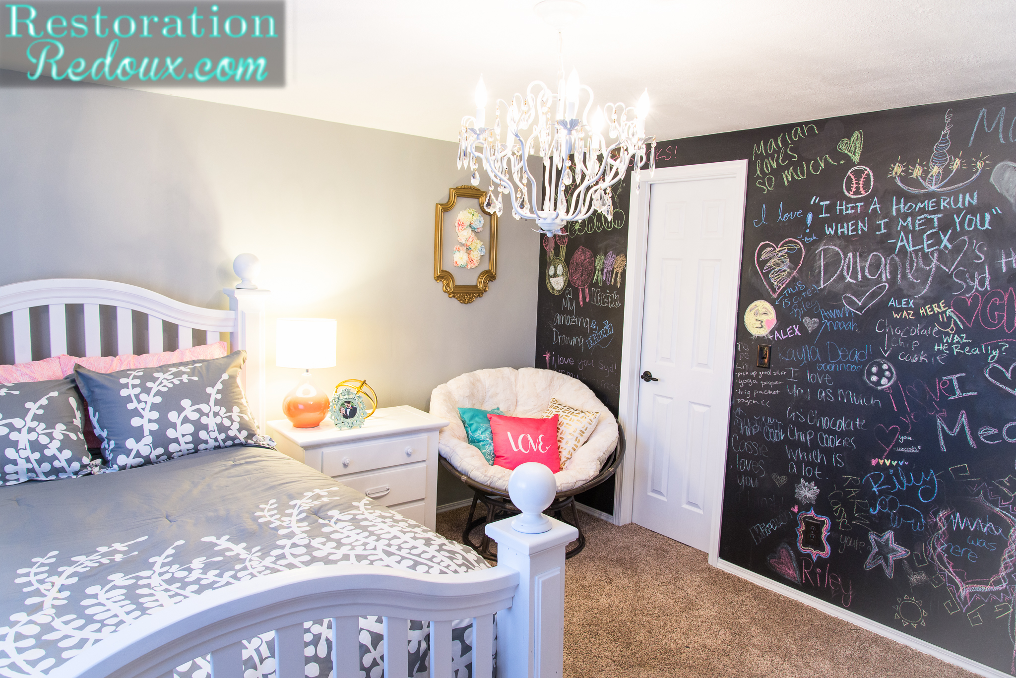 Teen Girl Bedroom Makeover - Daily Dose of Style