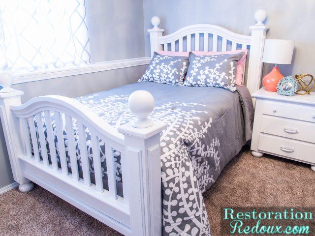 Teen Girl Bedroom Makeover