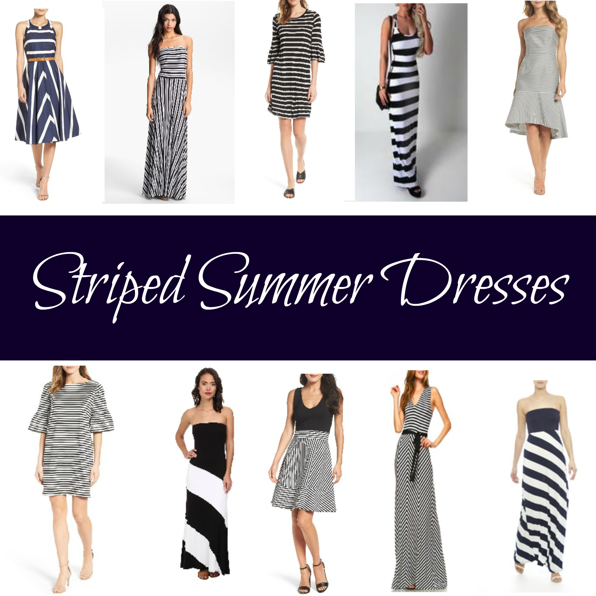 Striped Summer Dresses