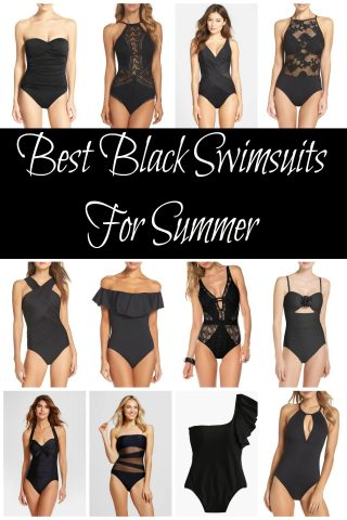 Best Black Swimsuits for Summer