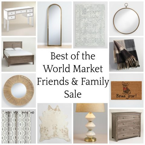 World Market Friends and Family Sale