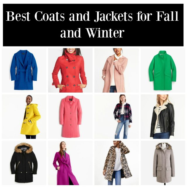 Best Coats and Jackets for Fall and Winter