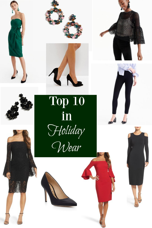 Top Ten in Holiday Wear