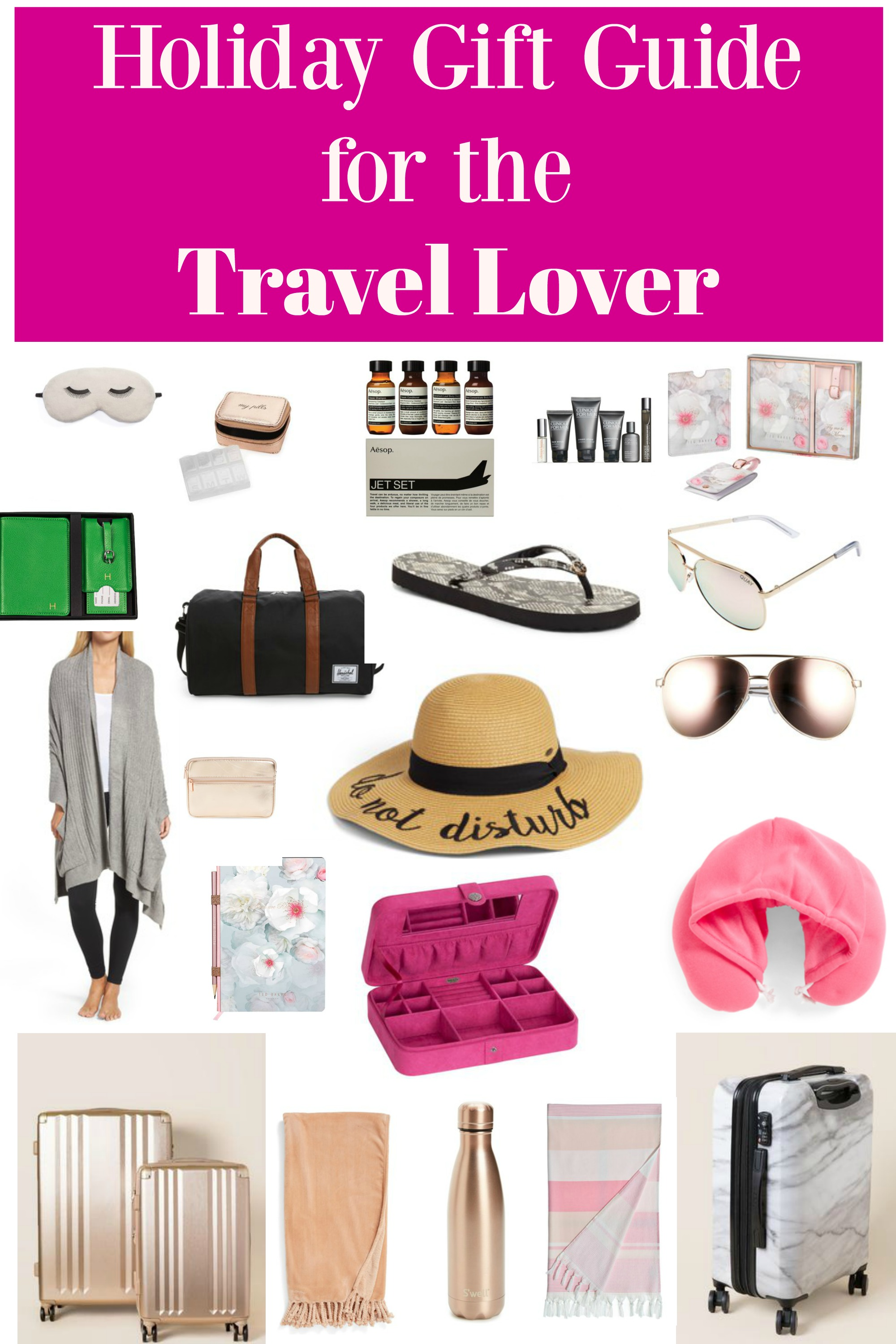 Holiday Gift Guide for the Travel Lover